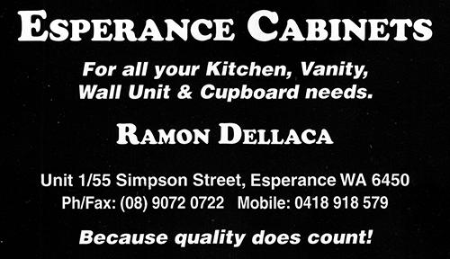 Esperance-Cabinets